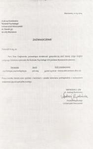 Andrzej Rynkiewicz_Wydział Psychologii_Referencje_Lingo